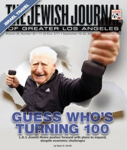 Media relations cover story for Los Angeles Jewish Journal PR marketing campaign